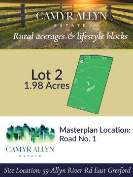 Lot 2 - Camyr Allyn Estate