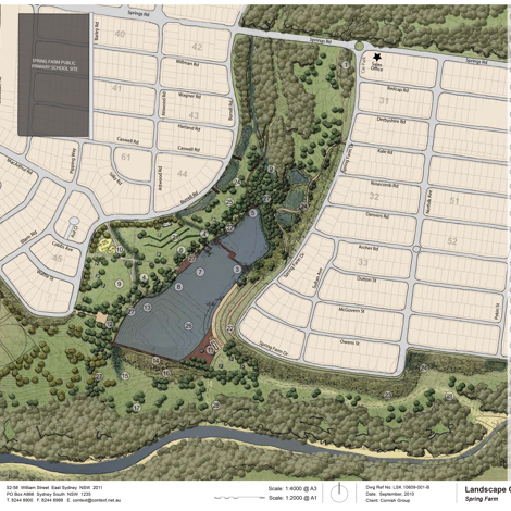 Spring Farm Riverside Masterplan