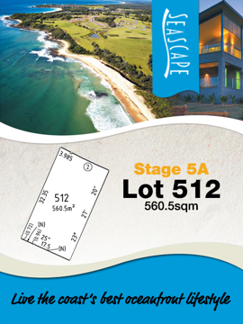 Lot 512 - Seascape Village